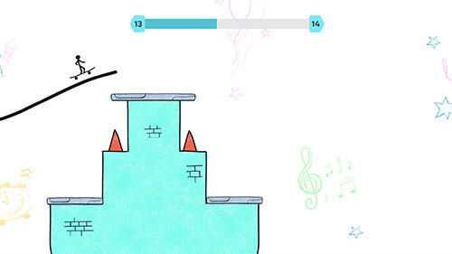 Stickman games Line skater in English