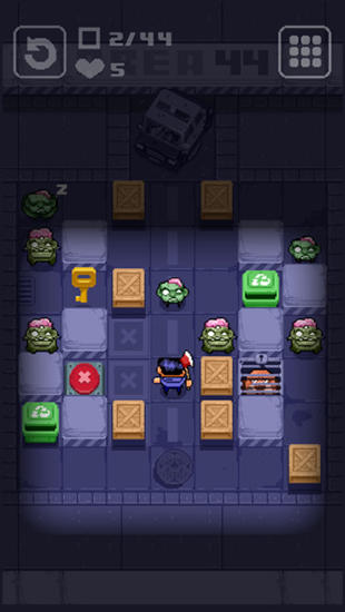 Zombie maze: Puppy rescue для Android