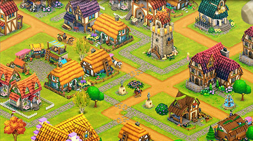 Strategy games Town village: Farm, build, trade, harvest city for smartphone