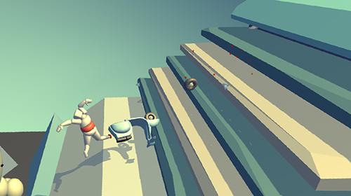 Actionspiele Stickman turbo dismounting 3D für das Smartphone