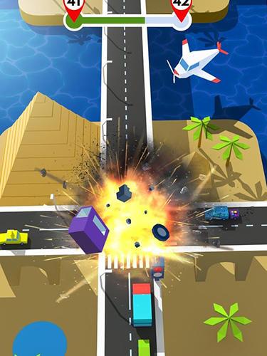 Traffic rush 3D英语