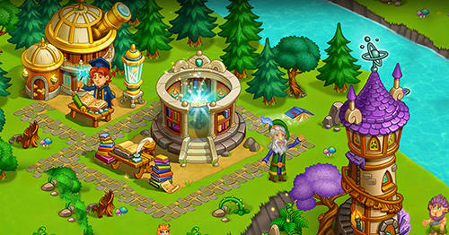 Magic country: Fairytale city farm for Android