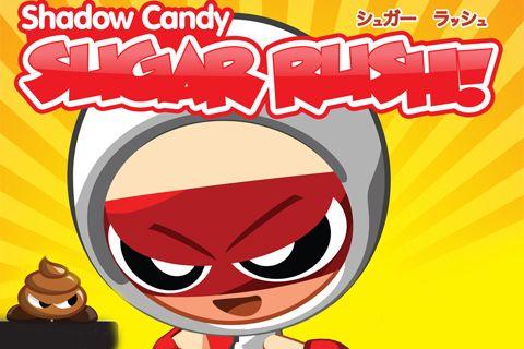 logo Schatten Candy: Zucker Rausch!