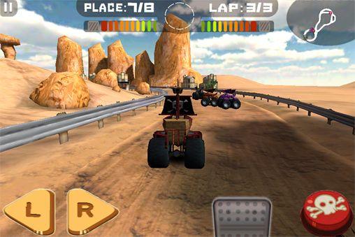 Captura de pantalla Neumáticos de furia en iPhone