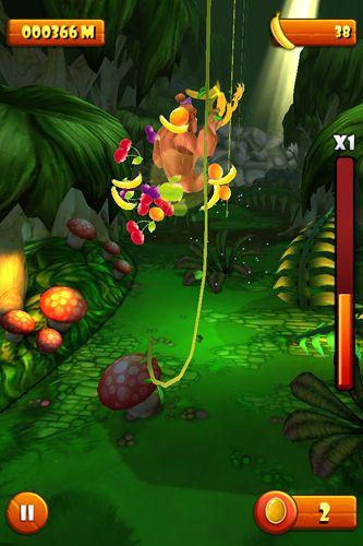 Screenshot Ms. Kong auf dem iPhone