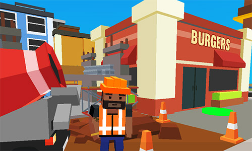 Grand cube city: Sandbox life simulator для Android