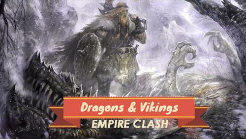 Dragons and vikings: Empire clash Screenshot