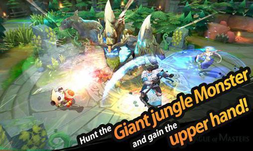 RPG-Spiele League of masters für das Smartphone