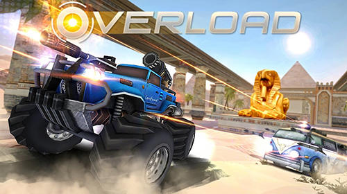 Overload: 3D MOBA car shooting captura de pantalla 1