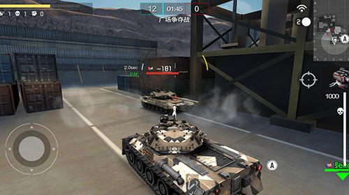 League of tanks: Global war für Android