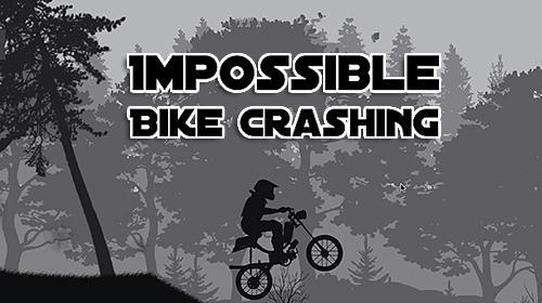 Impossible bike crashing game Symbol
