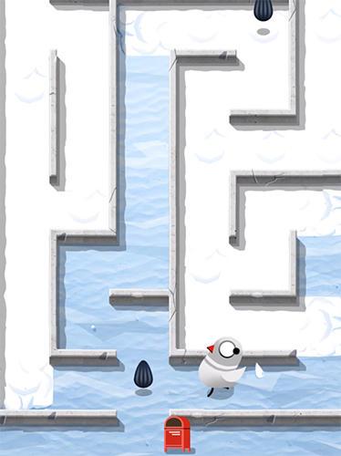 Arcade-Spiele Pigeon mail run: Maze puzzle für das Smartphone