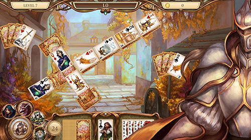 Snow White solitaire. Shadow kingdom solitaire: Adventure of princess auf Deutsch