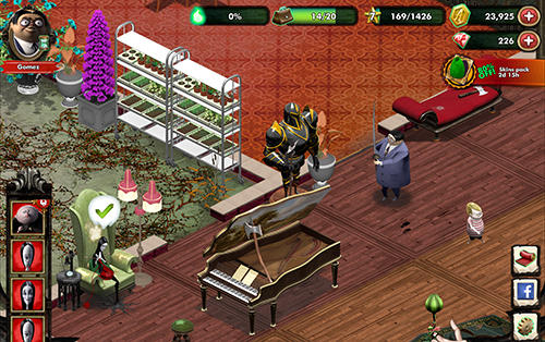The Addams family: Mystery mansion für Android