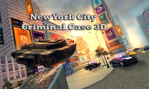 New York city: Criminal case 3D captura de tela 1