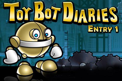 logo Toy Bot Tagebücher. Eintrag 1