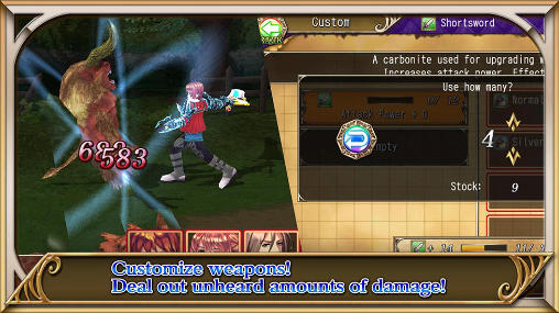RPG Revenant saga capture d'écran 3
