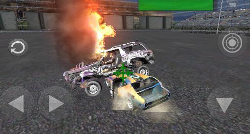 Rennspiele Maximum crash: Extreme racing für das Smartphone
