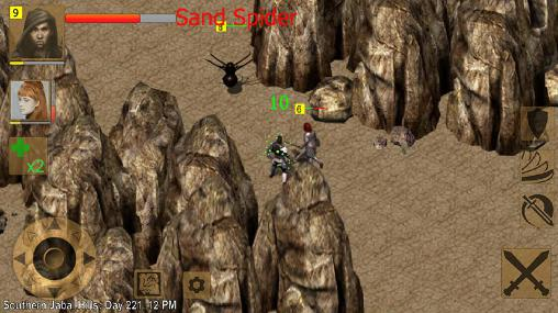 Exiled kingdoms RPG für Android