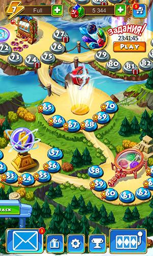 Arcade-Spiele Montezuma blitz für das Smartphone