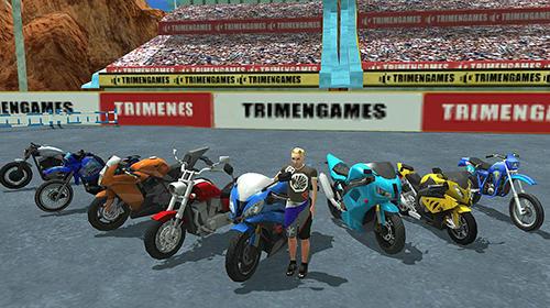 Off road moto bike hill run für Android
