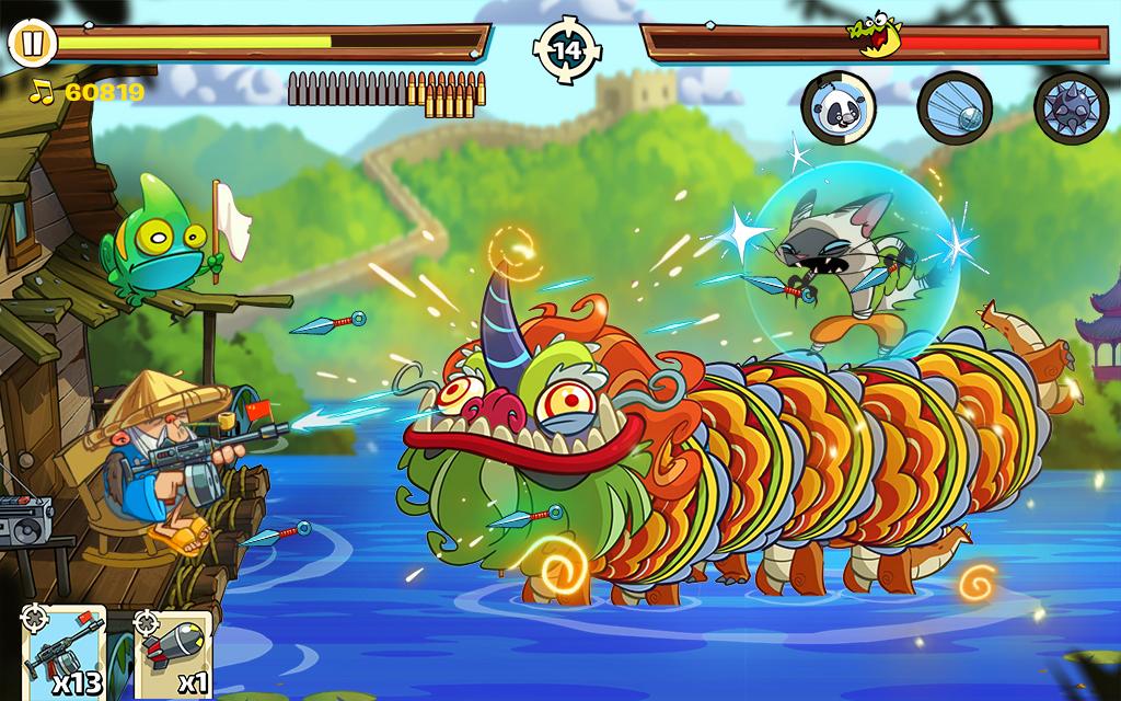 Swamp Attack 2 screenshot 1