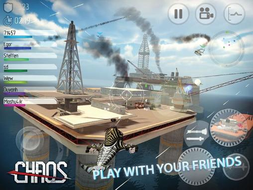 Simulation games Chaos: Combat copterst for smartphone