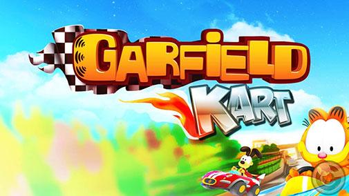 Garfield kart Screenshot