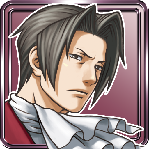 Иконка Ace Attorney Investigations - Miles Edgeworth