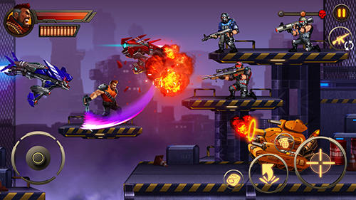 Metal squad: Shooting game für Android