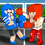 Cubic street boxing 3D icono
