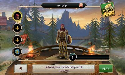 RPG Order & Chaos Online for smartphone