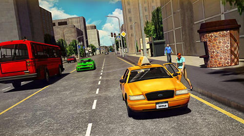HQ taxi driving 3D pour Android