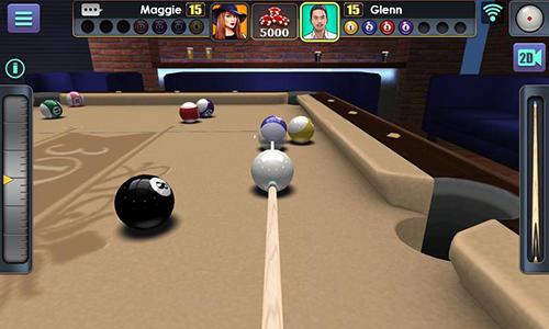 Billard 3D pool ball auf Deutsch
