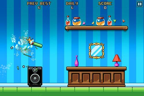 Screenshot Fishbowl Racer auf dem iPhone