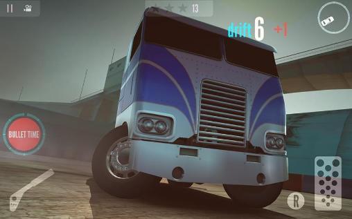 Drift zone: Trucks für Android