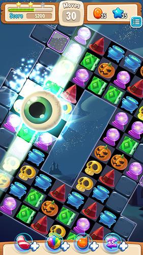 3 Gewinnt-Spiele Magic match madness auf Deutsch