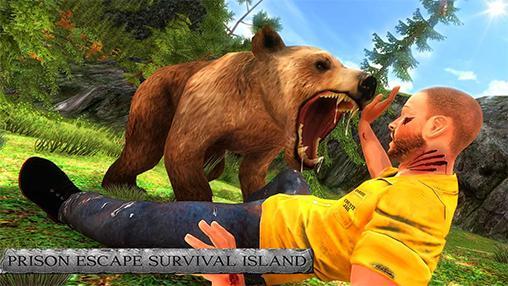 Prison escape: Survival island icône