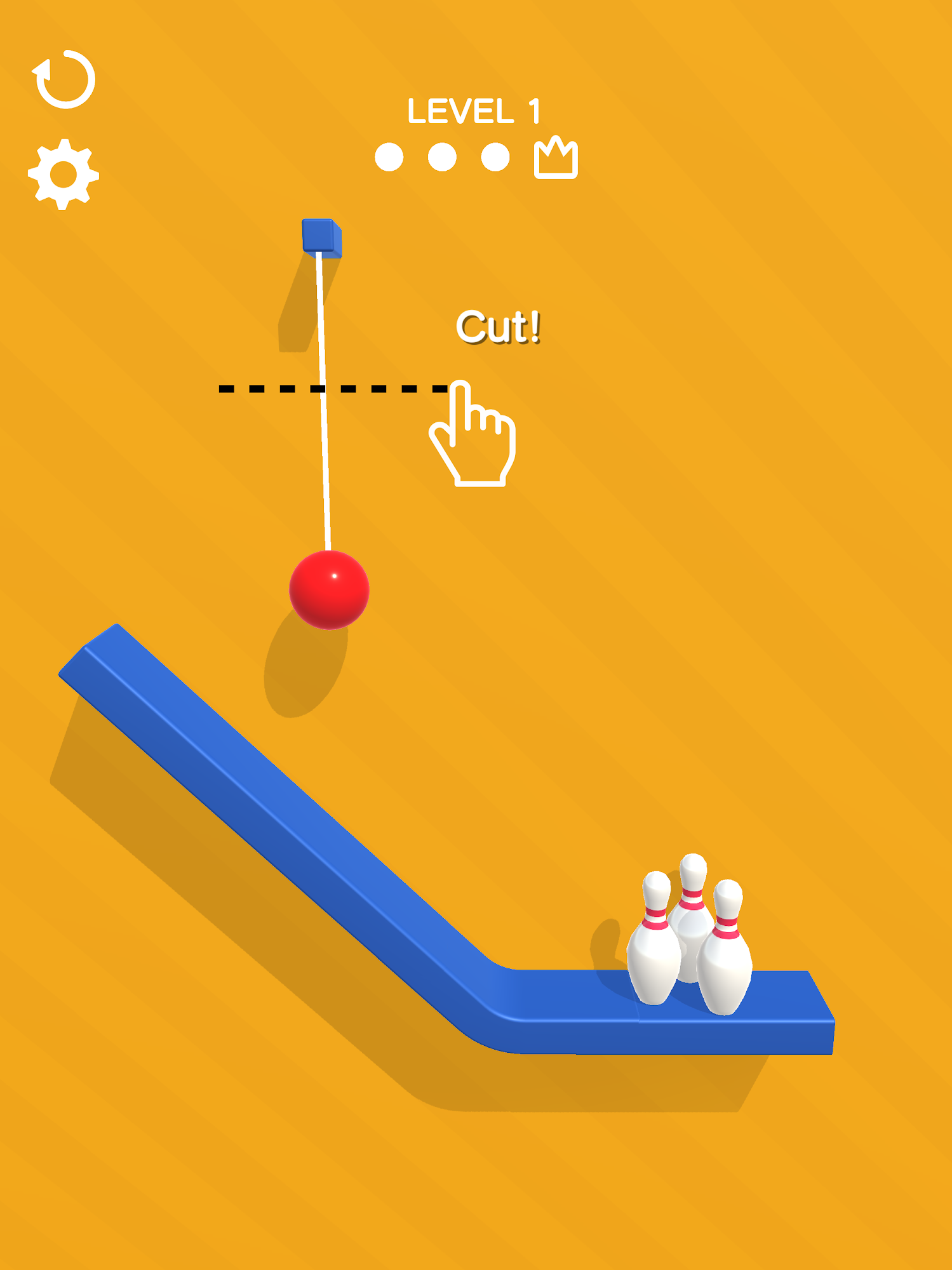 Rope Bowling screenshots