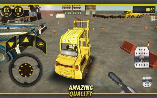 Forklift simulator 3D 2014 auf Deutsch