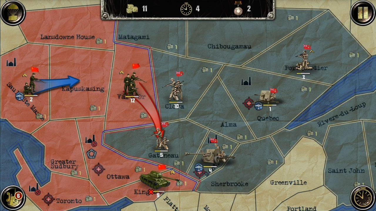 Strategy & Tactics:USSR vs USA captura de pantalla 1