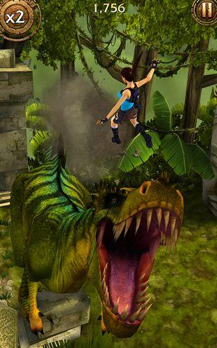Screenshot Lara Croft: Reliquienlauf auf dem iPhone