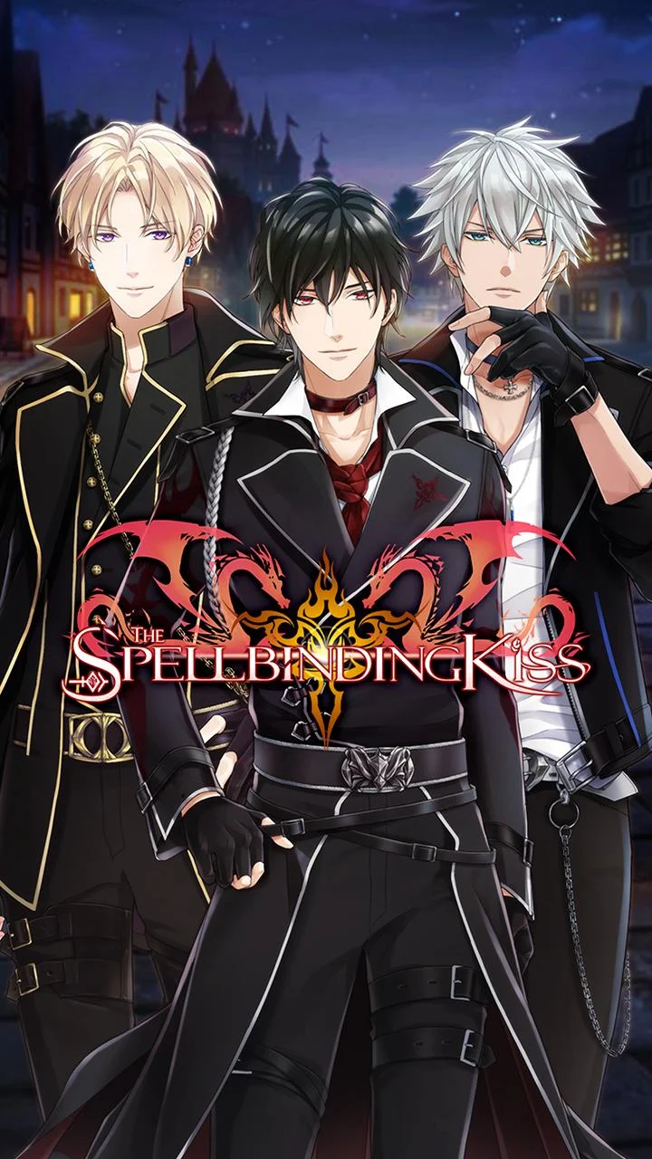 The Spellbinding Kiss : Romance Otome Game скриншот 1