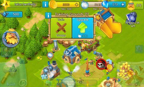 Onlinespiele Cloud raiders: Sky conquest für das Smartphone