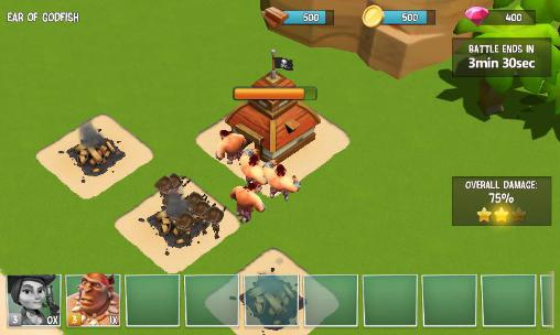 Onlinespiele The pirates: Caribbean conflict für das Smartphone