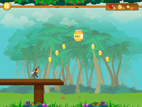 Скриншот Приключения пчелы Билли на Айфон