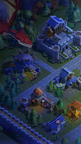 Clash of kings 2: Rise of dragons Screenshot