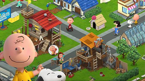 АркадиPeanuts. Snoopy's town tale: City building simulatorдля смартфону