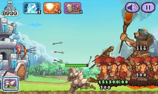 Giant hunter: Fantasy archery giant revenge für Android