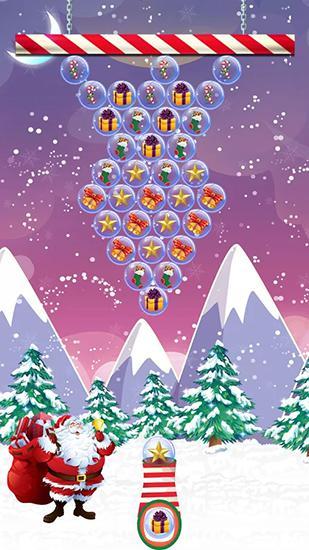 Santa bubble shoot для Android